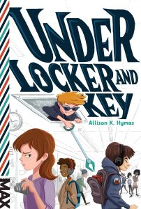 Author Spotlight Interview | Allison Hymas talks Under Locker and Key | www.patriciabaileyauthor.com