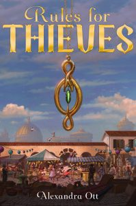 Author Spotlight | Alexandra Ott Talks About Rules for Thieves | www.patriciabaileyauthor.com