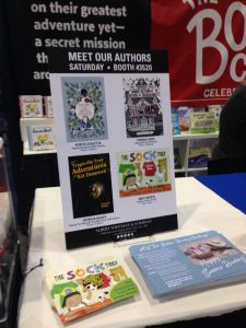 ALA | Albert Whitman Booth Signing | www.patriciabaileyauthor.com