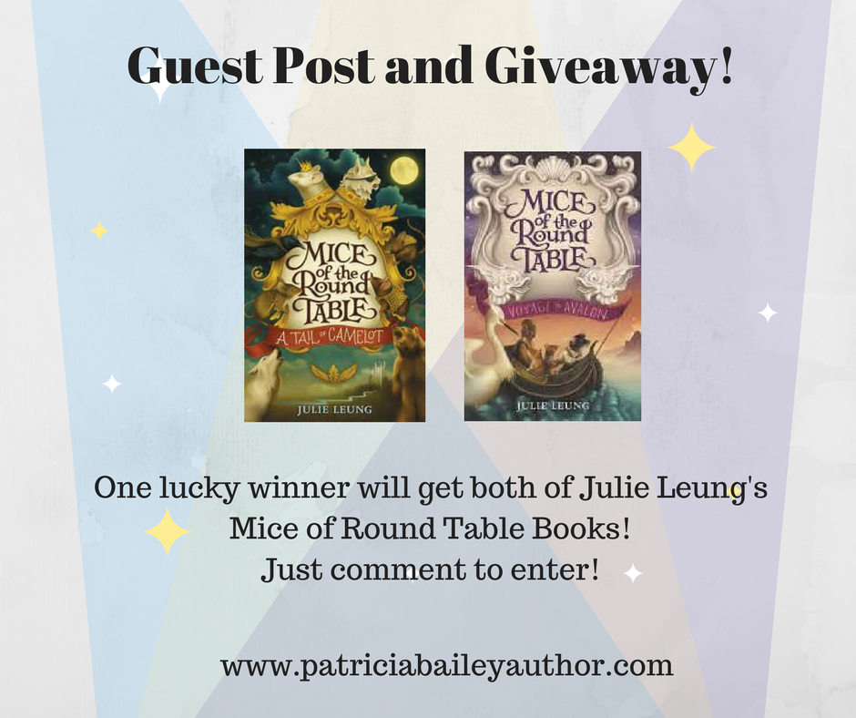 Guest Post and Giveaway | Julie Leung | www.patriciabaileyauthor.com