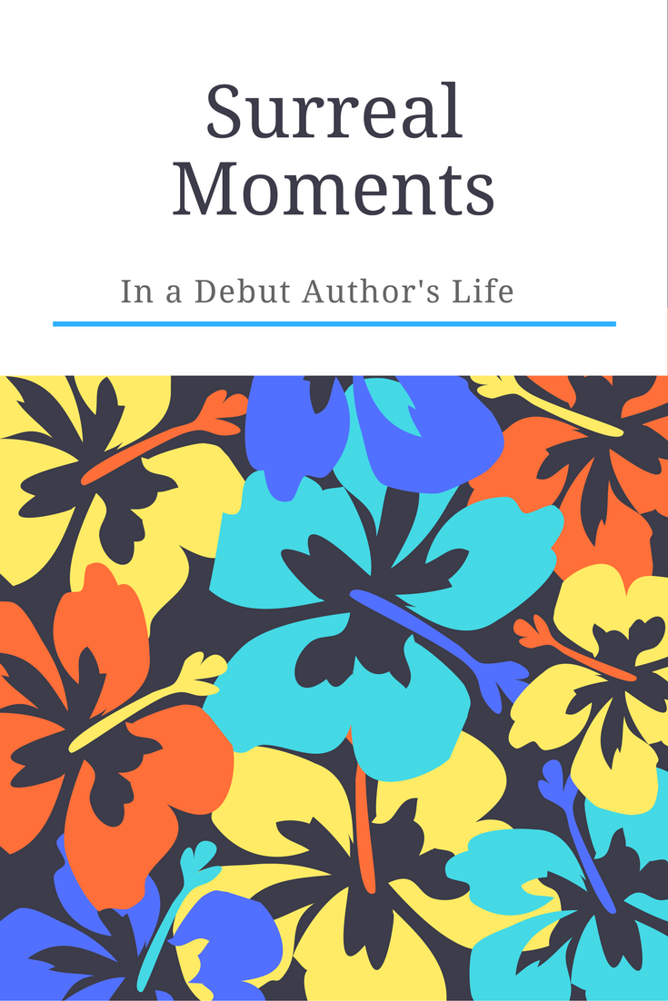 Surreal Moment in a Debut Author's Life | www.patriciabaileyauthor.com