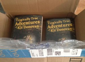 Surreal Moment - The Tragically True Adventures of Kit Donovan ARCs unboxing